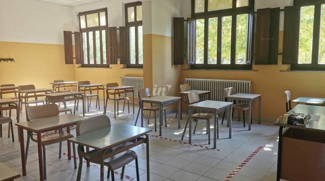 Inaugurazione della rinnovata scuola Collodi a Querce di Fucecchio, 12 settembre 2020