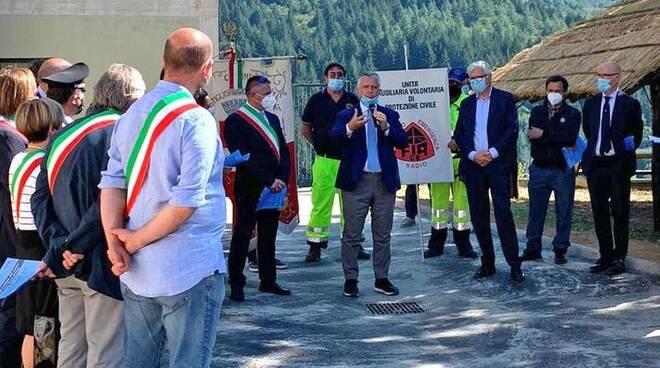 Inaugurazione nuova scuola Castiglione