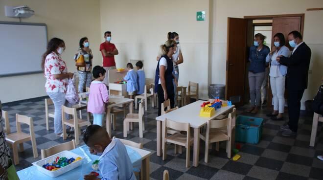 inaugurazione nuova sezione scuola materna Chimenti