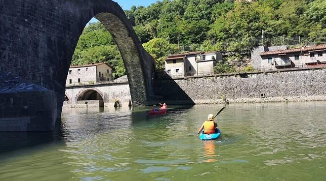 Inaugurazione rafting Ponte del Diavolo