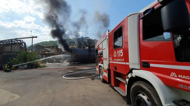 Incendio ex Alce Fornoli