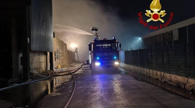 incendio geofor 29 settembre 2020