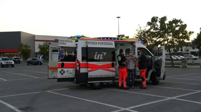 incidente a pontedera 12 settembre 2020 foto Enrico Damiani