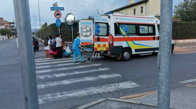 incidente via di pelle santa croce sull'arno