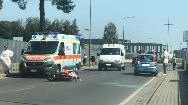 incidente via Lippi Francesconi