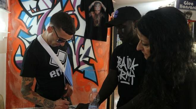 Jamil rapper instore