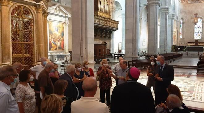 lucchesi nel mondo visita cattedrale san martino