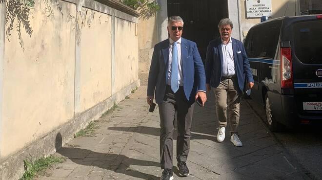 Mallegni Marchetti visita carcere San Giorgio di Lucca