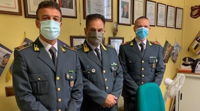 Marco Onesti comandante tenenza finanza castelnuovo garfagnana
