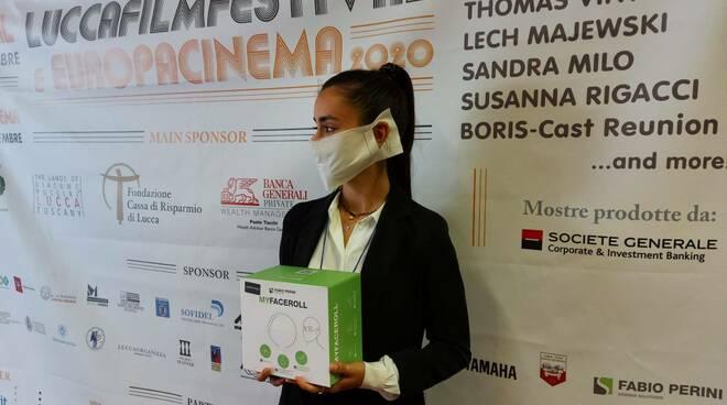 mascherine compostabili bambu Fabio Perini