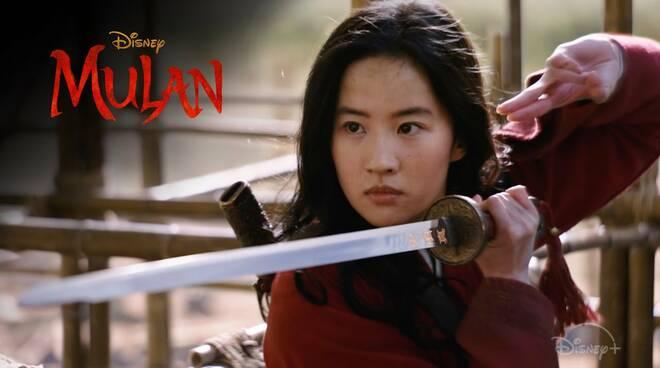 Mulan film Disney Plus