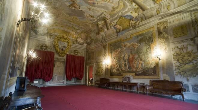 Palazzo Mansi interno museo nazionale Lucca