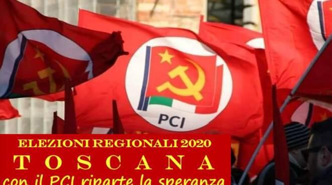 Pci incontro piazza Lucca locandina