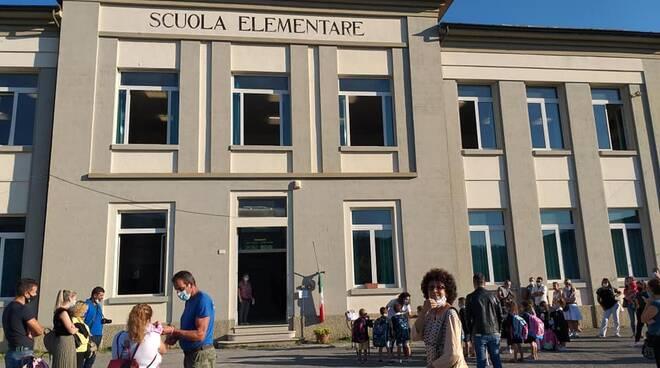 Primo giorno di scuola a Borgo a Mozzano
