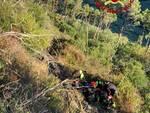 recupero escursionista monte serra vigili del fuoco