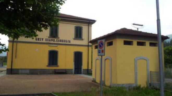 restyling stazione Ghivizzano-Coreglia