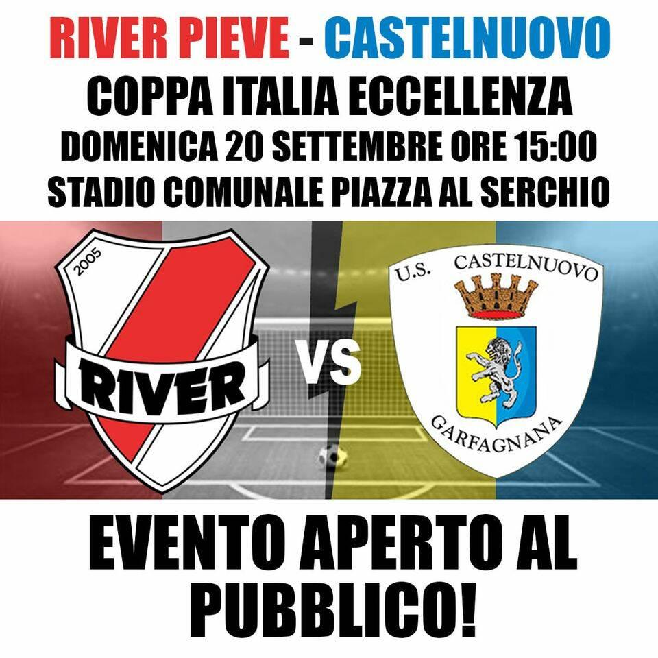 River Pieve-Castelnuovo aperta al pubblico