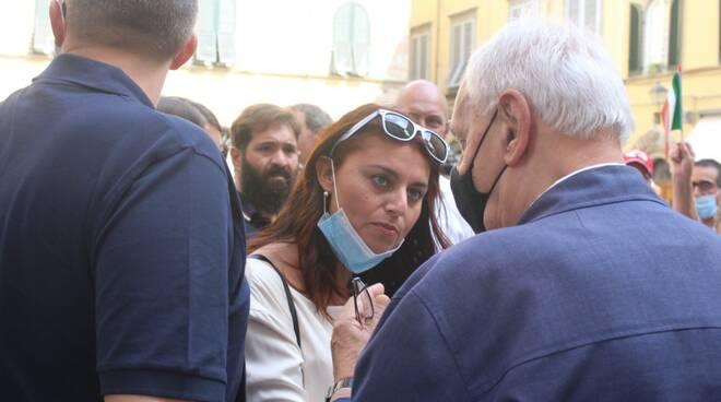 Salvini e Ceccardi