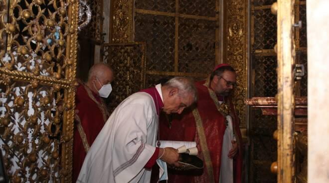 Santa Croce all'epoca Covid: niente processione in centro