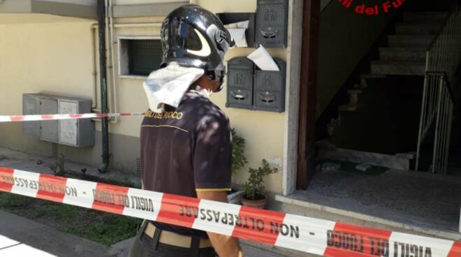 scale condominiali crollate a viareggio
