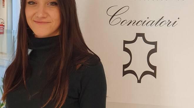 Serena Brillanti, coordinatrice Gruppo Giovani Conciatori