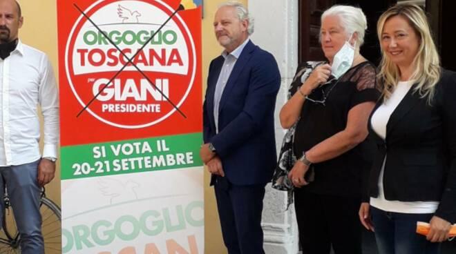 Silvia Guidi Italia dei Valori Orgoglio Toscana