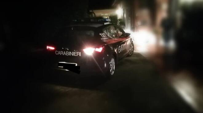 sopralluogo di furto a Gragnano