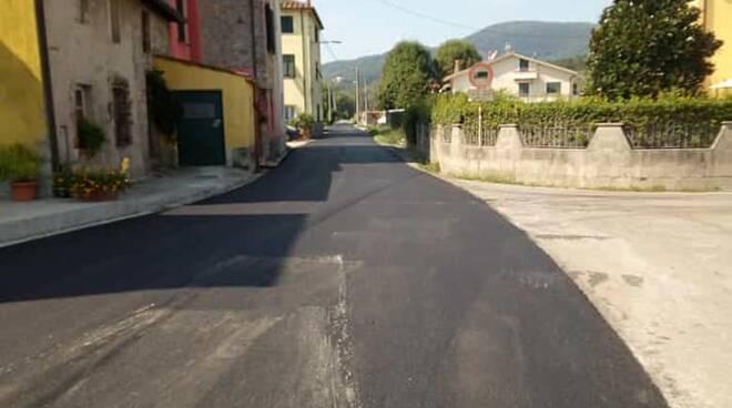 strade asfaltate oltreserchio