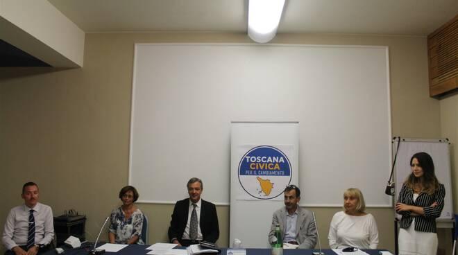 Toscana Civica per il cambiamento Alessandro Di Vito Claudia Salas Lazzari