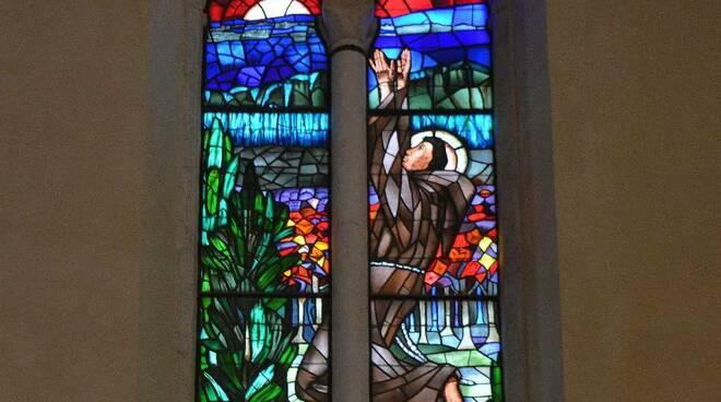 vetrata San Francesco