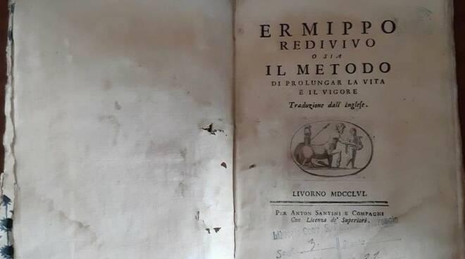 volume trafugato convento Viareggio ritrovato