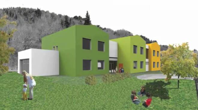 Andrea Bonfanti presenta il progetto della scuola di Monsagrati