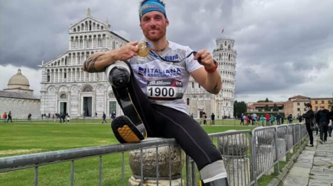 Andrea Lanfri mezza maratona Pisa