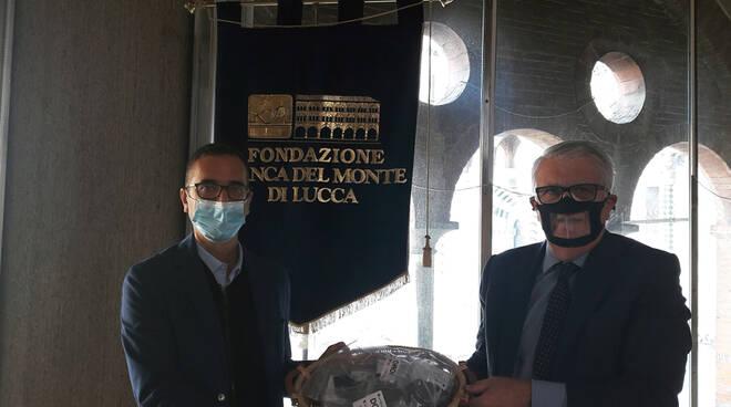 Andrea Pagano Oriano Landucci Fondazione Banca del Monte di Lucca Ente nazionale Sordi