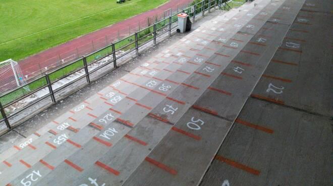 Apertura stadio Bagni di Lucca al pubblico