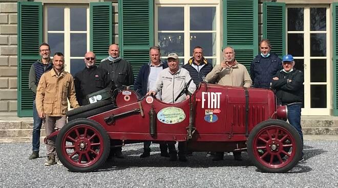 auto d'epoca a villa reale