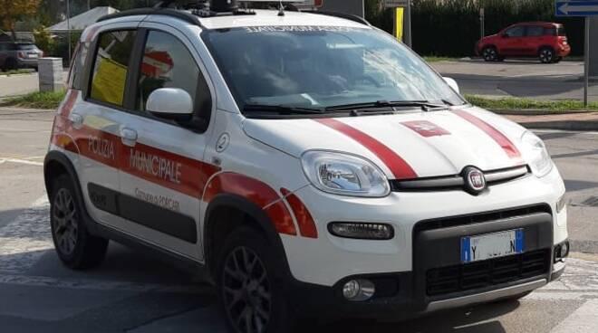 auto polizia municipale Porcari