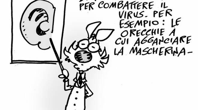 campagna prevenzione Lupo Alberto