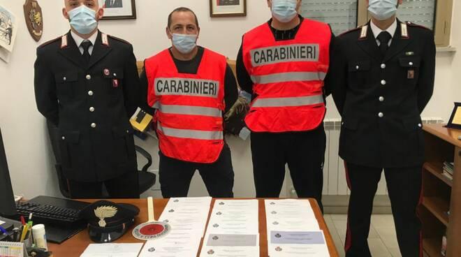 Carabinieri Roccastrada documenti falsi