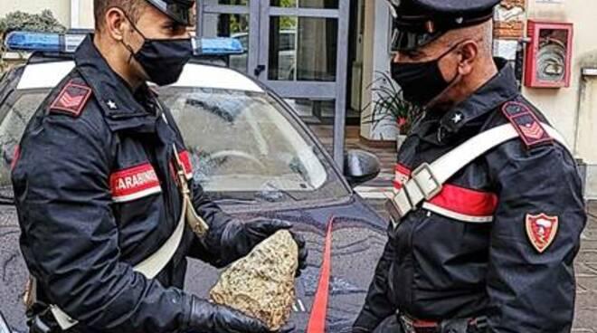 Carabinieri sasso Carrara