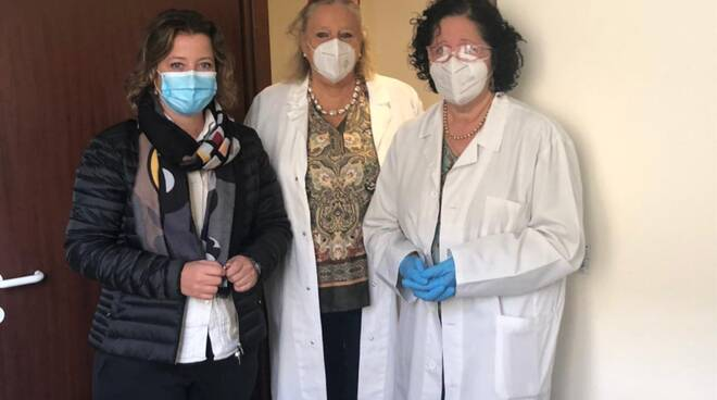 Casa della Salute Marlia locali vaccinazioni consegna Capannori