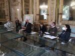 conferenza stampa nuovi alberi a Lucca