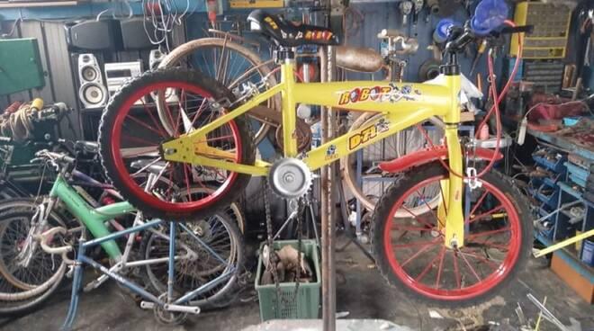 Devid Barneschi bicicletta per bambino progetto