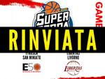 Etrusca San Miniato Libertas Livorno basket serie B Supercoppa