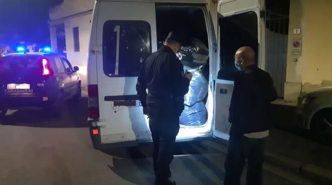 Froestali, Sequestro furgone  e rifiuti a Sesto Fiorentino