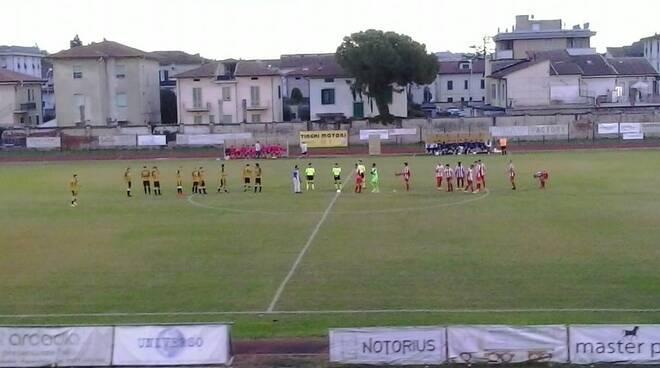 Fucecchio Cuoiopelli derby ritorno
