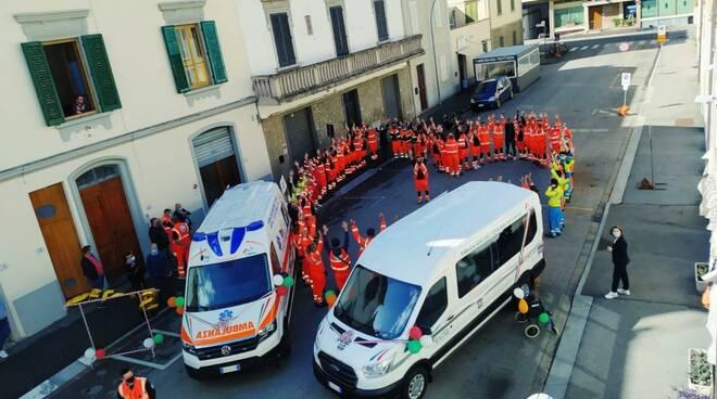 Inaugurazione mezzi pubbliche assistenze riunite di Empoli