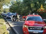 Incidente ad Arezzo sulla strada regionale 69