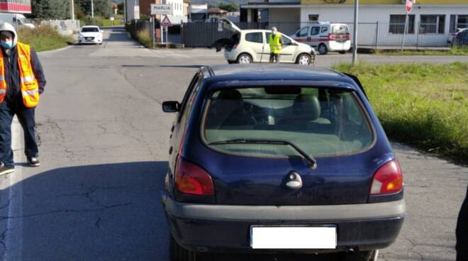 incidente confine Lucca Capannori
