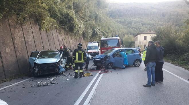 incidente regionale 445 Castelnuovo